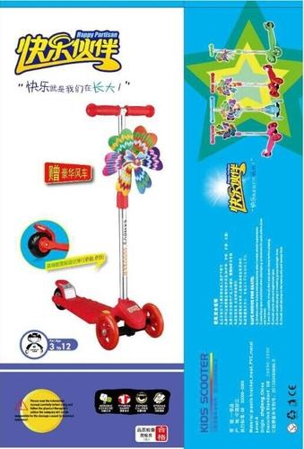 儿童滑板车三轮闪光正品滑板车特价宝宝滑滑车可升降拆卸踏板车 -BQ-903