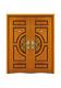 钢木装甲门-FXGM-A105D和和美美对开门