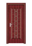 室内套装门 -066(红拼木)富通