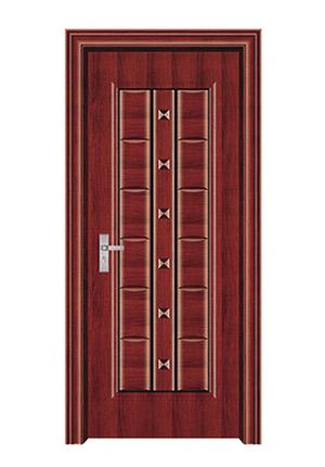 室内套装门-066(红拼木)富通
