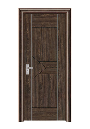 室内套装门-062(黑胡桃)富康