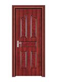 室内套装门 -061(红拼木)富顺