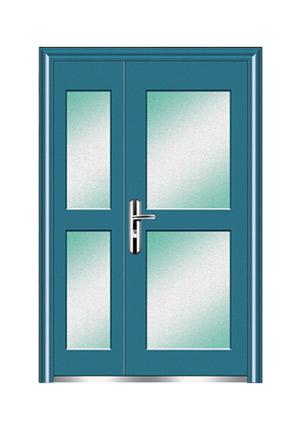 非标门-钢制玻璃门