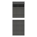不锈钢窗花 -FX-1257