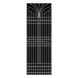 不锈钢窗花 -FX-1281