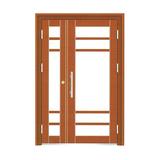 楼寓门 -FX-LY1525-红铜色
