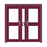 楼寓门 -FX-LY1507-枣红