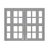 楼寓门 -FX-LY1508-银灰色