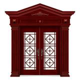 手工木纹门 -LL-8305