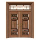 手工木纹门 -LL-8303
