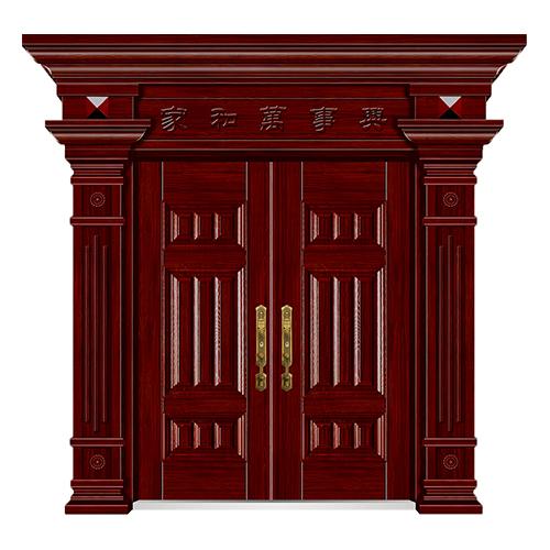 手工木纹门