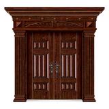 精雕木纹门 -LL-8201