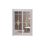 卫浴门 -6255-水曲柳天籁推拉门-金镶玉
