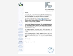 欧2排放证书