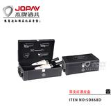 双支红酒皮盒 -SD868D