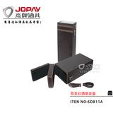 双支红酒皮盒 -SD811A
