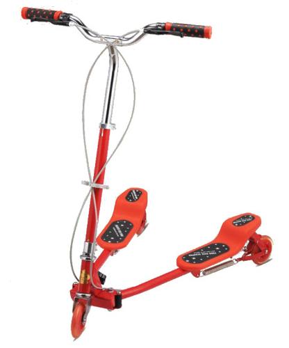 小号蛙式运动车-红色-DB8039S-W1