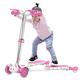 大宝儿童三轮蛙式滑板车四轮音乐闪光滑轮剪刀车批发-DB8150
