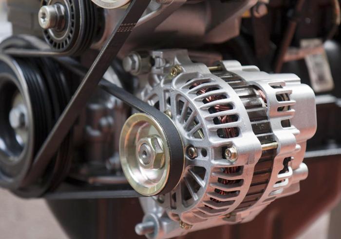 Automotive motor principle