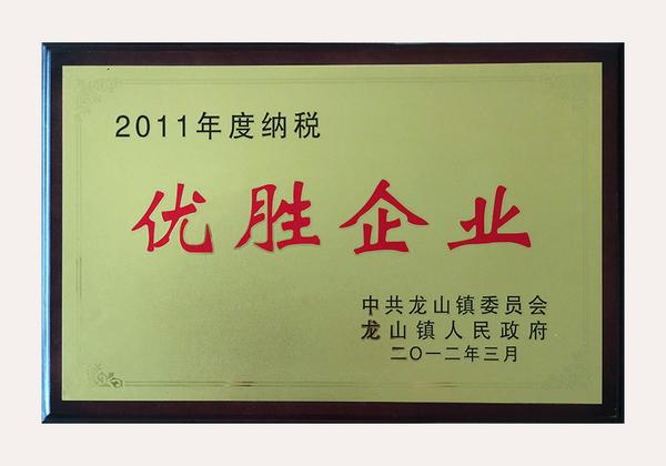 2011 Tax-winning Company