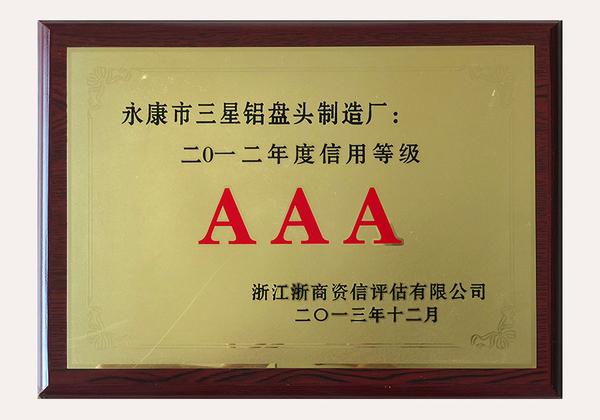 2012 3A Credit Rating