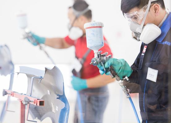 水性工业漆在运输、储存、施工方面的注意事项简析