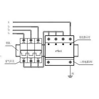 epp65t三相电源浪涌保护器