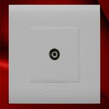 电视插座 -F01白色
