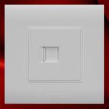 电脑插座 -F01白色