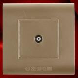电视插座 -F01香宾色