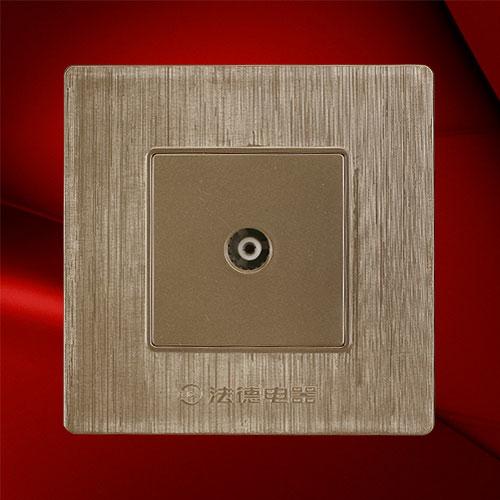 电视插座-F02-1TV