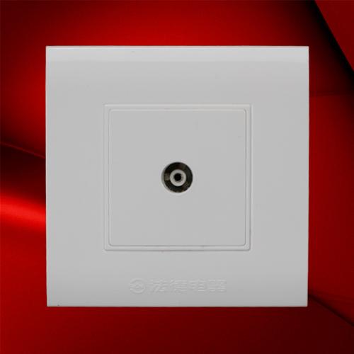 电视插座-F08-1TV