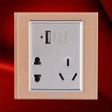 USB五孔插座 -F07-US23C