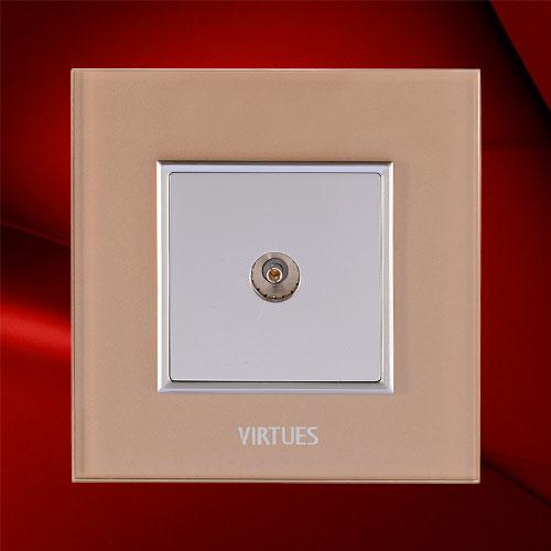 一位電視插座-F07-1TV(電路板型)
