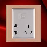 五孔电话插座-F07-H23C