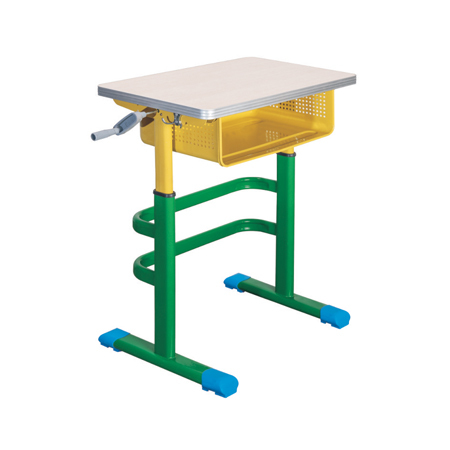 鋁合金包邊課桌椅-FX-0286