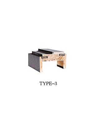 七字線與門框種類 TYPE-3