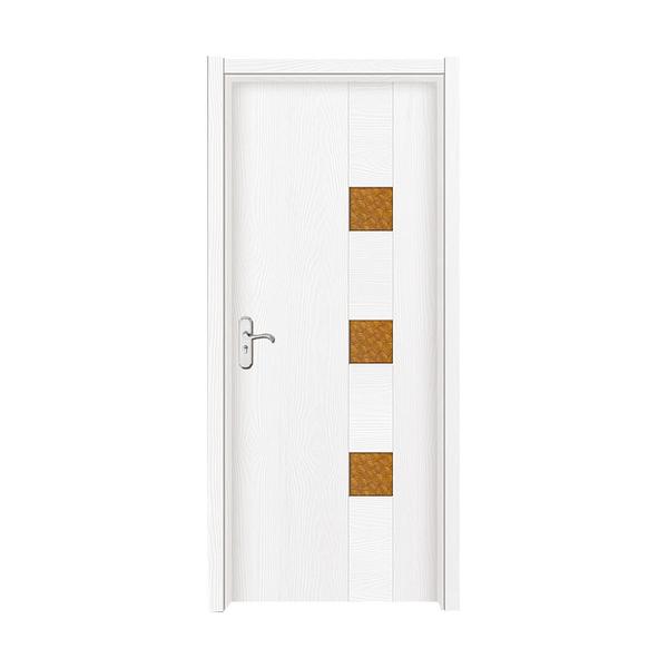 生態強化門 2101暖白浮雕