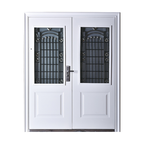 Steel security door XD-8058G