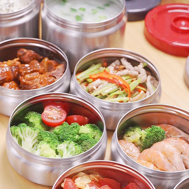 健康工作餐,德系品质保温饭盒来相伴