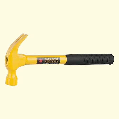 粗钢管柄羊角锤-