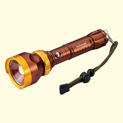 LED强光手电(带usb充电孔)-