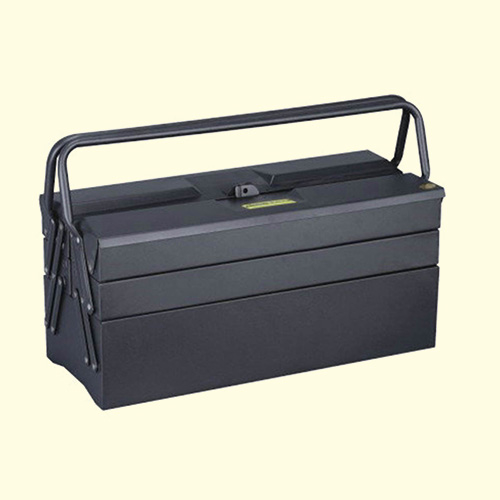 开拉式铁皮工具箱-