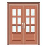 豪华铜铝门系列 -GYJ-885(拼花玻璃门)真铜2号
