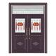 豪华铜铝门系列-GYJ-888(拼花玻璃门(真铜5号