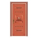 豪华铜铝门系列 -GYJ-897(拼花板)红铜1号