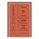 豪华铜铝门系列-GYJ-893(拼花板)红铜1号