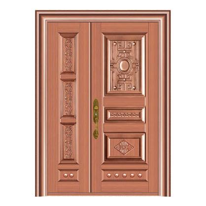 豪华铜铝门系列-GYJ-895(压花板)真铜2号