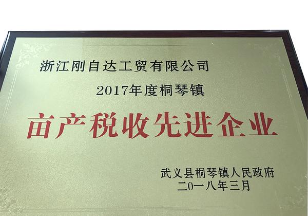 2017年度桐琴镇亩产税收先进企业(1)