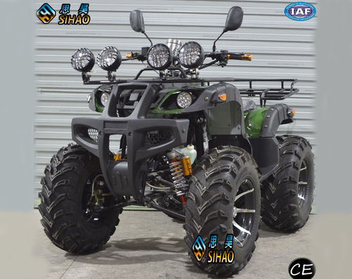 SHATV-028 250CC ATV with double aluminum exhaust pipes